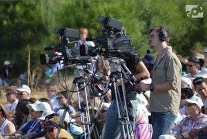 GOD TV - GOD TV Camera Crew on location in Israel.