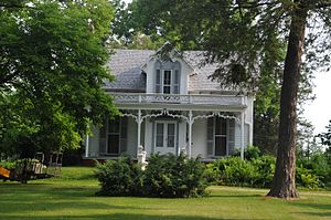 National Register of Historic Places listings in Bureau County, Illinois - Image: GREENWOOD COTTAGE, PRINCETON, BUREAU COUNTY, ILLINOIS