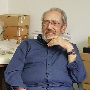 Gabriel Barkay - Gabriel Barkay, June 2017