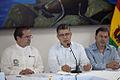 Galapagos - Ecuador 23 de Mayo del 2014. Rueda de Prensa de la sesión de trabajo de la Reunión de Ministras y Ministros de Relaciones Exteriores de Los países miembros del UNASUR. (14068429758).jpg