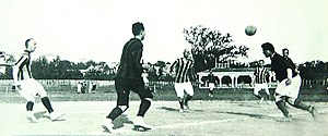 The Intercontinental Derby - Match between the retired players in 1923.