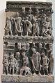 Gandhara, rilievo con attentato alla vita di buddha, 100-200.JPG