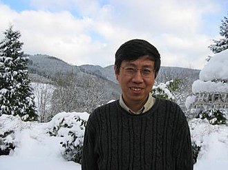 Tian Gang - Gang Tian at Oberwolfach in 2005