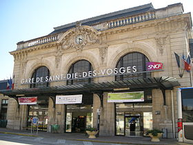 image illustrative de l'article Gare de Saint-Dié-des-Vosges