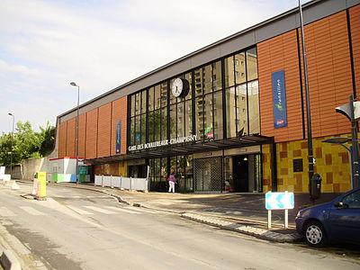Les Boullereaux-Champigny station