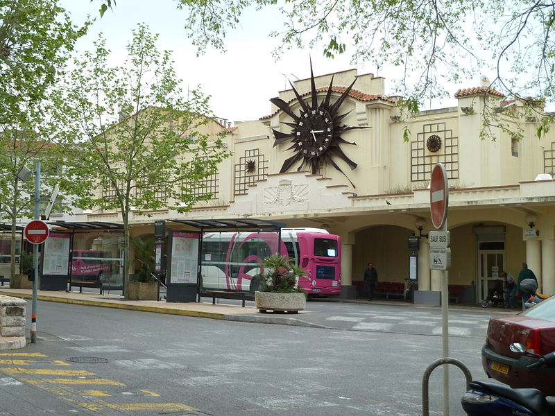 Gare routiere Antibes