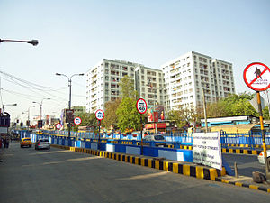 Gariahat Road - Gariahat Flyover near Golpark