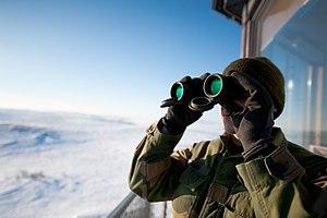 Garrison of Sør-Varanger - Image: Garnisonen i Sør Varanger binoculars