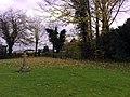 Gated Footpath, Churchyard, Finmere - geograph.org.uk - 1046017.jpg
