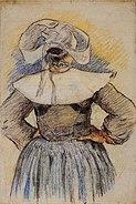 Gauguin - Bretonne
