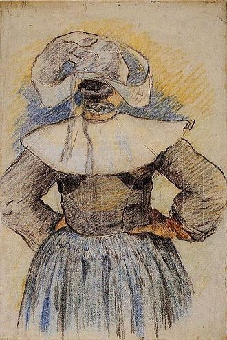 Bretons - Image: Gauguin Bretonne