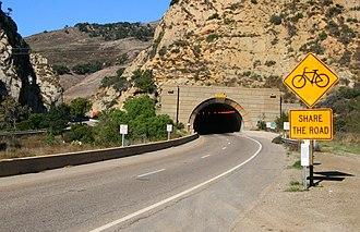 Gaviota Tunnel - Image: Gaviota tunnel