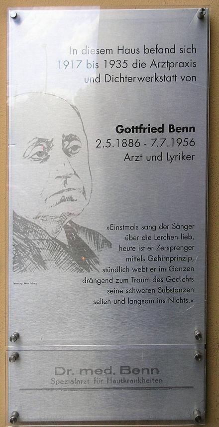 Gottfried Benn Wikiwand