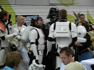 Gen Con Indy 2007 - costumes 12 %28Storm Troopers and Darth Vader%29