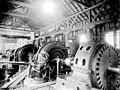 Generators in Cedar Falls Powerhouse, 1903 (INDOCC 1758).jpg