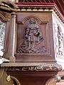 Gennes-sur-Seiche (35) Église Saint-Sulpice Intérieur Chaire 06.jpg