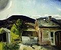 George Bellows - The Village Houses (1920).jpg