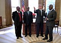 George Bush with African national leaders February 26, 2002.jpg