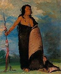 Shoo-de-gá-cha, The Smoke, Chief of the Tribe