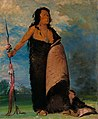 George Catlin - Shoo-de-gá-cha, The Smoke, Chief of the Tribe - 1985.66.95 - Smithsonian American Art Museum.jpg