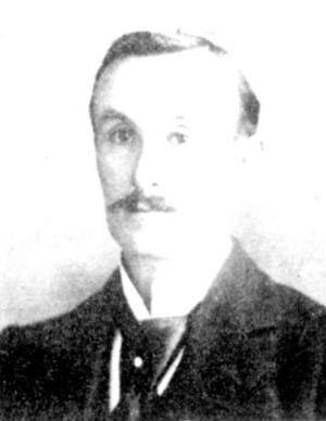 George Davidson (footballer) - Davidson in 1899