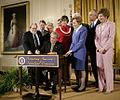 George W. Bush approves Northwestern Hawaiian Islands Marine National Monument.jpg