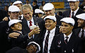 George W. Bush with US Olympic Team prior to 2008 Summer Olympics opening ceremony 1.jpg