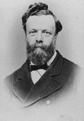 George Goyder - George Woodroffe Goyder in 1869