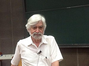 George Zweig - George Zweig giving a speech at Department of Physics, National Taiwan University