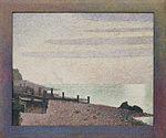Georges-Pierre Seurat - Honfleur, un soir, embouchure de la Seine - Google Art Project.jpg
