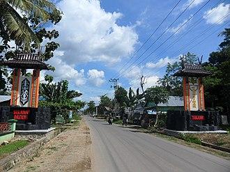 Tanjung, Tabalong - Tanjung Entrance Gate