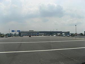 Bekasi - Cikarang highway toll gate