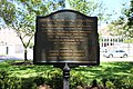 German Memorial Fountain historical marker, Orleans Square.jpg