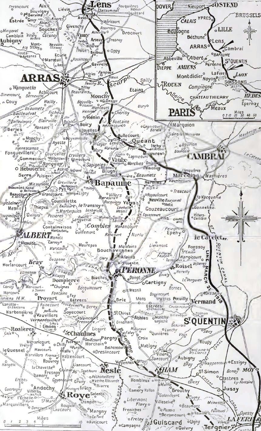 German advance, 21-23 March 1918