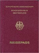 German passport (european community)