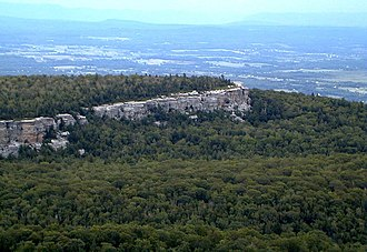 Minnewaska State Park Preserve - Gertrude's nose from Hamilton Point