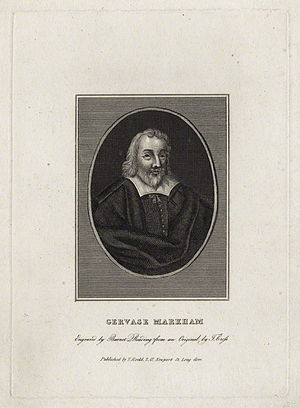 Gervase Markham - Gervase Markham by Burnet Reading, after Thomas Cross