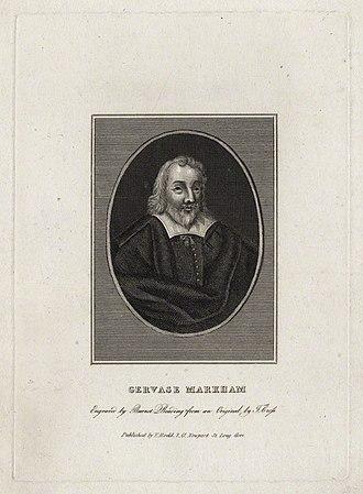 Gervase Markham - Gervase Markham by Burnet Reading, after Thomas Cross