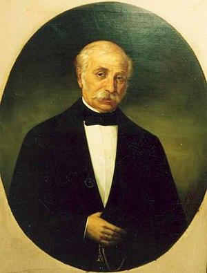 Ioan Kalinderu - Image: Gheorghe Tattarescu Portretul lui Lazar Kalinderu