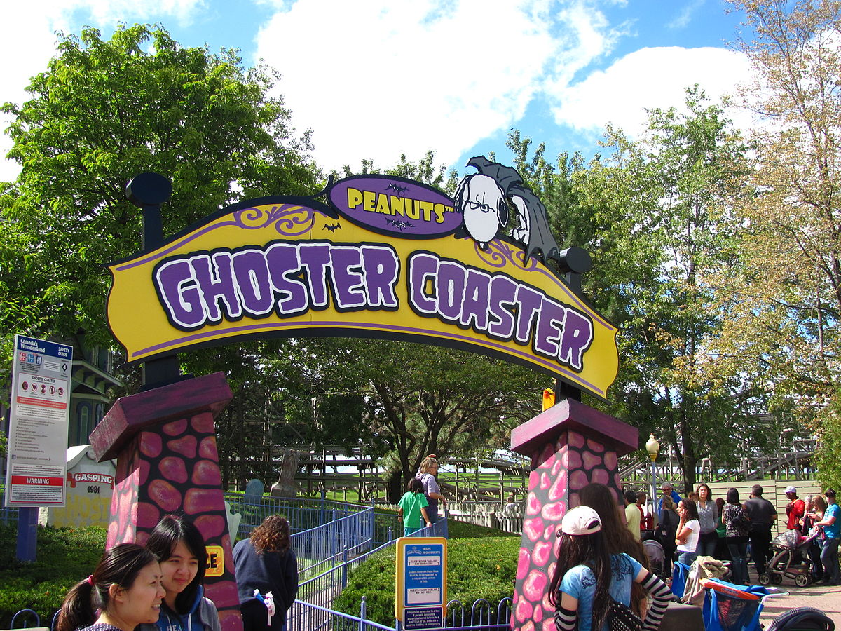 Ghoster Coaster (Canada's Wonderland) - Wikipedia