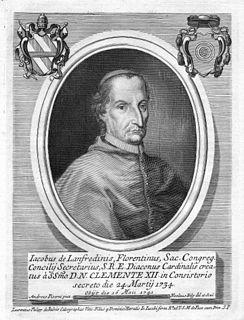 Giacomo Lanfredini Italian cardinal