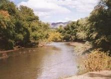 Gila River near town of Riverside1