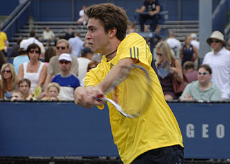 Gilles Simon - Simon at the 2008 US Open