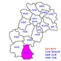 Gimcheon map-Jeungsan-myeon.png