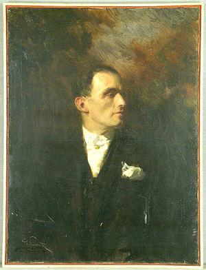 Mario Palanti - Portrait of Mario Palanti by Giuseppe Palanti (1881–1946)