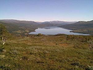 Gjevilvatnet - View of the lake