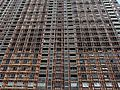 Glasgow. Balornock. Red Road Flats,153–213 Petershill Drive (view from west, before demolition).jpg