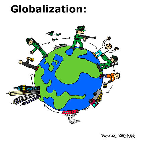 the two positive effects of globalization in indonesia