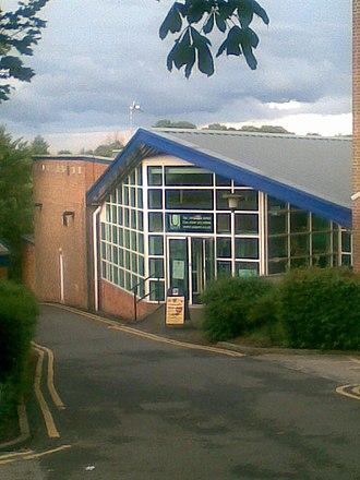 Goodwin Sports Centre - Image: Goodwin Sports Centre