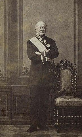 Портрет князя А. М. Горчакова. Фотография К.И.Бергамаско, 1860-е гг.